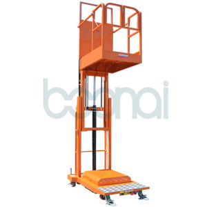 Aerial Stock Picker Double Masts (Mobile) for 3.3m pictures & photos