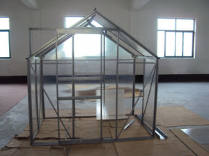 Aluminium Frame + 4mm Polycarbonate Greenhouse