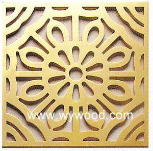 Carved Grille MDF Wooden Decorative Panel (WY-53) pictures & photos