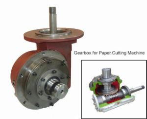 Cua Cone Worm Gear Reducer with Mounting Flange pictures & photos