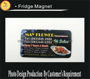 Soft Rubber Fridge Magnet