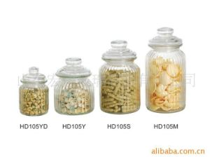 500ml~1500ml Glass Bottles, Glass Jars with Glass Lid for Food Storage pictures & photos
