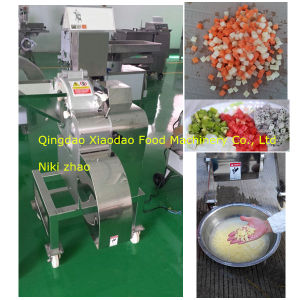 Vegetable Cube Cutting/Fruit Cutter Machine/Potato Cube Cutter pictures & photos