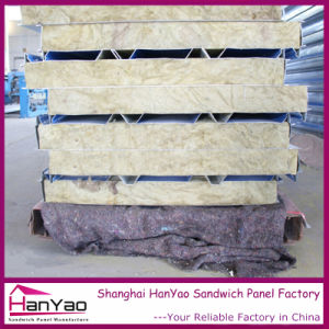 200mm Thickness Customized Building Material 950 Fireproof Rockwool Sandwich Panel with Cost Price pictures & photos