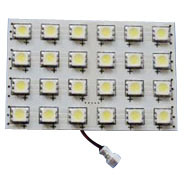 PCB Board Auto LED Reading Light 24SMD