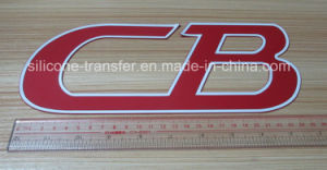 Large Size 3D Silicone Transfer Label for Sport Wears
