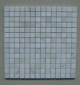 Calacatta White Mosaic Tile for Bathroom and Kitchen pictures & photos