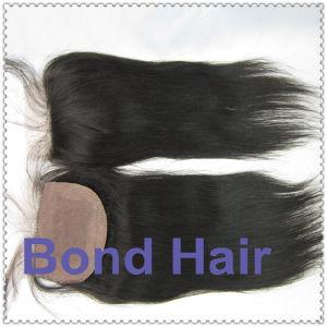 Brazilian Human Hair Silk Base Top Closure pictures & photos