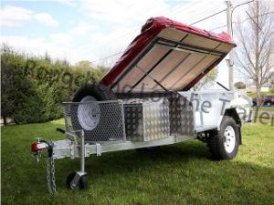 Australia Popular 7*4ft Hot Dipped Galvanized Steel Camper Trailer (CPT-07) pictures & photos