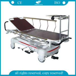 Luxurious Hydraulic Rise-and-Fall Emergency Stretchers (AG-HS005) pictures & photos