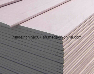 Free Sample 9.5mm 12mm Plasterboard Gypsum Board pictures & photos
