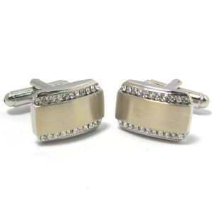 High Quality Fashion Metal Men′s Cufflinks (H50) pictures & photos