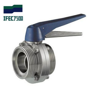 Stainless Steel Butterfly Valve Thread pictures & photos
