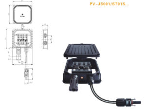 MC4 Solar Panels Junction Box (PV-JB001A/ST01S)