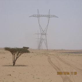 Power Transmission Line Steel Tower (Pylon)