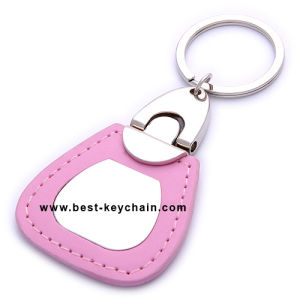 Souvenir Gifts Germany PU Leather Promotion Gift Keychain (BK20850) pictures & photos