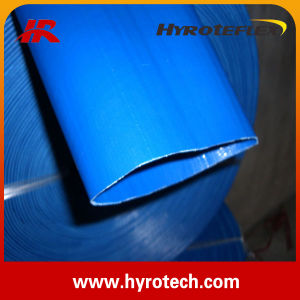 Flexible High Pressure PVC Layflat Hose with High Quality pictures & photos