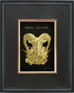 24k Gold Foil Constellations- Aries