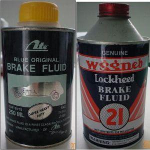 ATE 21 Safety Brake Fluid (DOT3 DOT4)