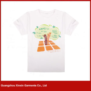 Wholesale Round Neck Plain Unisex T-Shirts (R97) pictures & photos