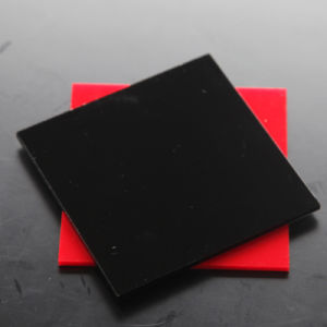 3mm PMMA Plexiglass Acrylic Sheet Black in Plastic Sheets