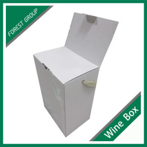 Fsc Certificate 6 Bottle Wine Box with Handle and Insert pictures & photos