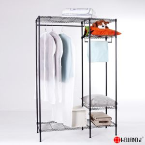 China Suppliers DIY Metal Cheap Closet Furniture Used Metal Wardrobe pictures & photos