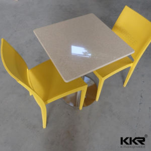 Acrylic Solid Surface Fast Food Restaurant Table Chairs pictures & photos