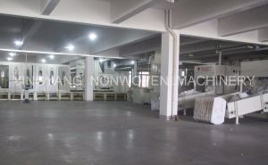 Nonwoven Synthetic Substrate Production Line (YYL) pictures & photos