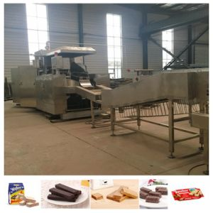 Saiheng Full Automatic Plate Waffle Making Machine pictures & photos