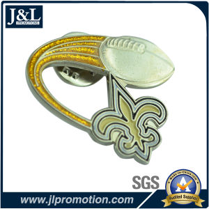 Good Price Customer Metal Badge with Antique Plating pictures & photos