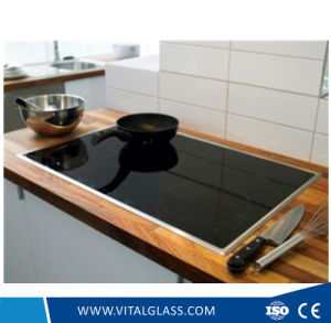 3mm, 4mm, 5mm Clear/Black Ceramic Glass for Fireplace and Induction Cooker pictures & photos