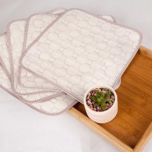 Bamboo Fiber Dishcloths Cleaning Cloths Kitchen Dish Cloths (30cm X 30cm) pictures & photos