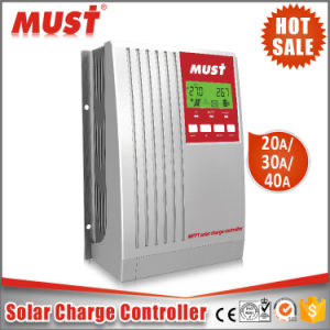 Air Cooling Home Use 20A MPPT Solar Charge Controller 12V 24V pictures & photos