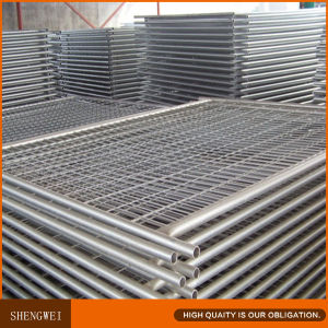 Australia 2.1X2.4m Galvanized Metal Temporary Fencing pictures & photos