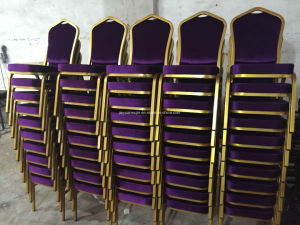Hotel Furniture General Use Metal Banquet Dining Chair (B01) pictures & photos