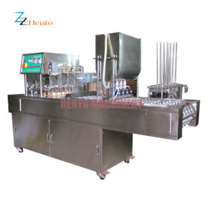 Canisters Potato Chips Plastic Cup Sealing Machine pictures & photos