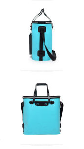 Live Fish Tank Barrel Fishing Carry Bag Folding Fishing Storage Box EVA Fishing Barrel Fishing Bucket pictures & photos