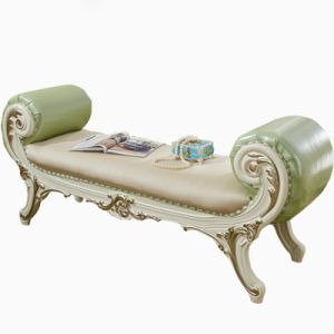 Classic Leather Bed Bench for Home Furniture pictures & photos