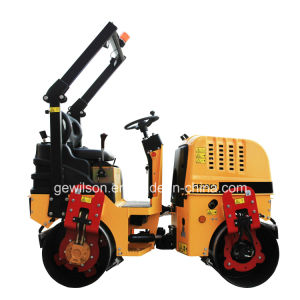 Saso SGS Ce Two Drum Hydraulic Ride-on Road Roller Supplier in China pictures & photos