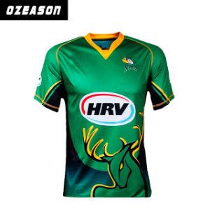 Fashion Men′s Cricket Uniform Design Custom No MOQ (CR007) pictures & photos
