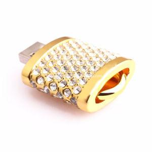 Mini Metal USB Flash Memory Crystal Lock USB Stick pictures & photos