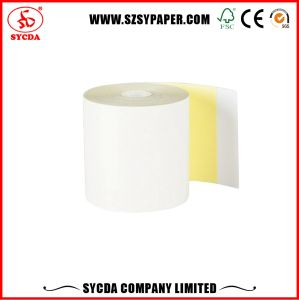 63GSM Carbonless Paper NCR Paper Rolls 76mm pictures & photos