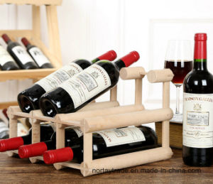 Solid Wood Wine Rack for Wholesales pictures & photos