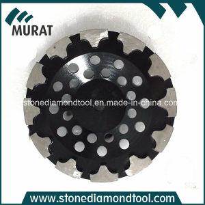 T Segment Diamond Grinding Cup Wheels for Concrete Floor pictures & photos