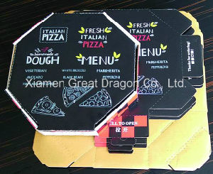 Pizza Boxes, Corrugated Bakery Box (PIZZA-0203) pictures & photos
