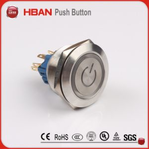 Hbgq25 25mm Anti-Vandal Waterproof Metal Switch, Pushbutton Switch pictures & photos