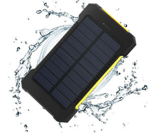 High Capacity 8000mAh Solar Power Bank with Dual Output Molie Power Bank