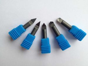 Diamond PCD Flat Bottom Router Bit with 60 Degree pictures & photos