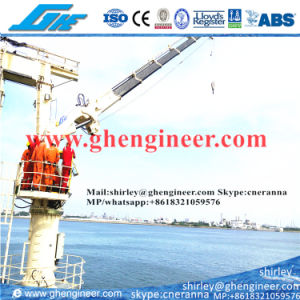 2.5t@22m Hydraulic Knuckle Boom Marine Deck Crane pictures & photos